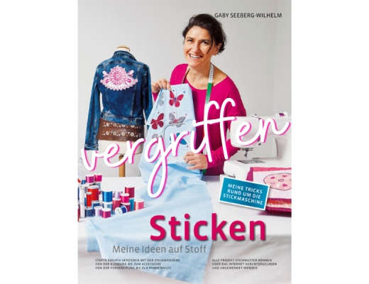 Sticken - Meine Ideen auf Stoff Cover