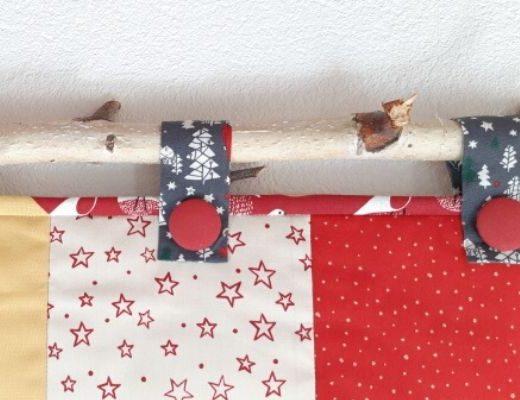 Wandbehang zu Weihnachten