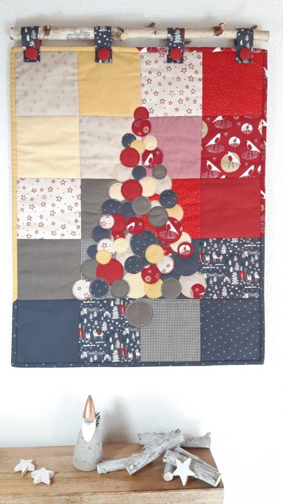 Weihnachtlicher Quilt