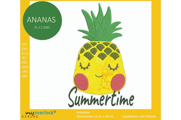 Ananas-Webpage-Beitrag