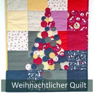 Weihnachtlicher Wandbehang - Quilten Artikel20.1.9.1118