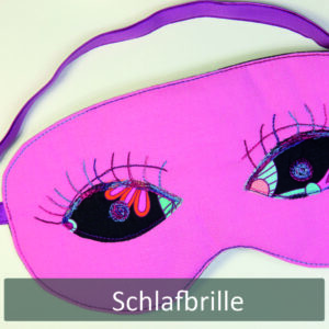 Schlafbrillen Freebie - Nähanleitung Artikel18.3.1.0301