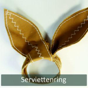 Osterhasen-Serviettenring - FREEBIE Nähanleitung Artikel01.03.2018